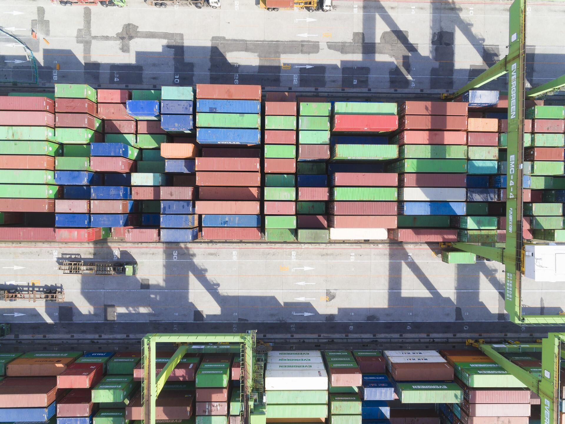 Viel Baumaterial wird momentan exportiert.